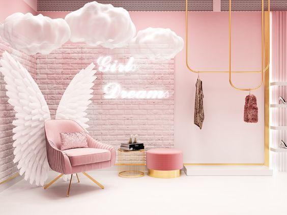 content house, casa de contenidos, contenido viral, decoración de locales, hello girl, concept store