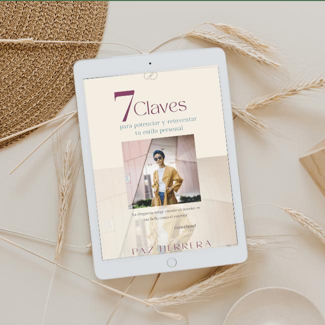 diseño y maquetación ebook, maquetación catálogo de moda, edición diseño revista de moda, ebook paz herrera